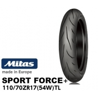 MITAS SPORT FORCE+ 110/70ZR17 (54W) TL